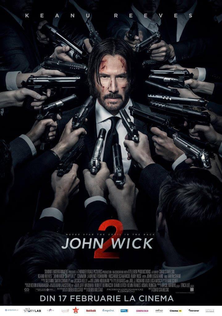 John Wick II - Sau ce face un bărbat pentru maşina sa