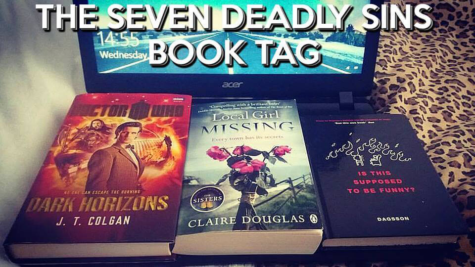 The Seven Deadly Sins book tag